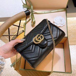Gucci Soho Small Mini Leather Disco Shoul724802